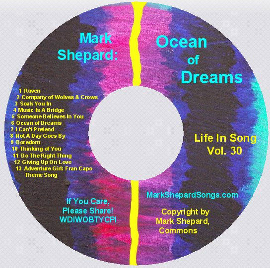 "Ocean of Dreams - Vol. 30 of ""A Life In Song"""