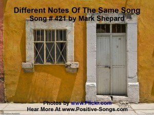 Song 421 Different Notes of the Same Song Video