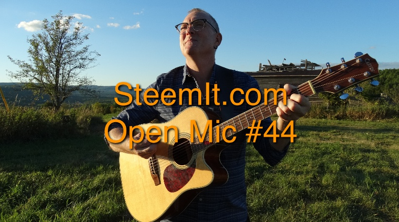 Freedom (Live 8-1-2017 for SteemIt.com Open Mic week 44) #312