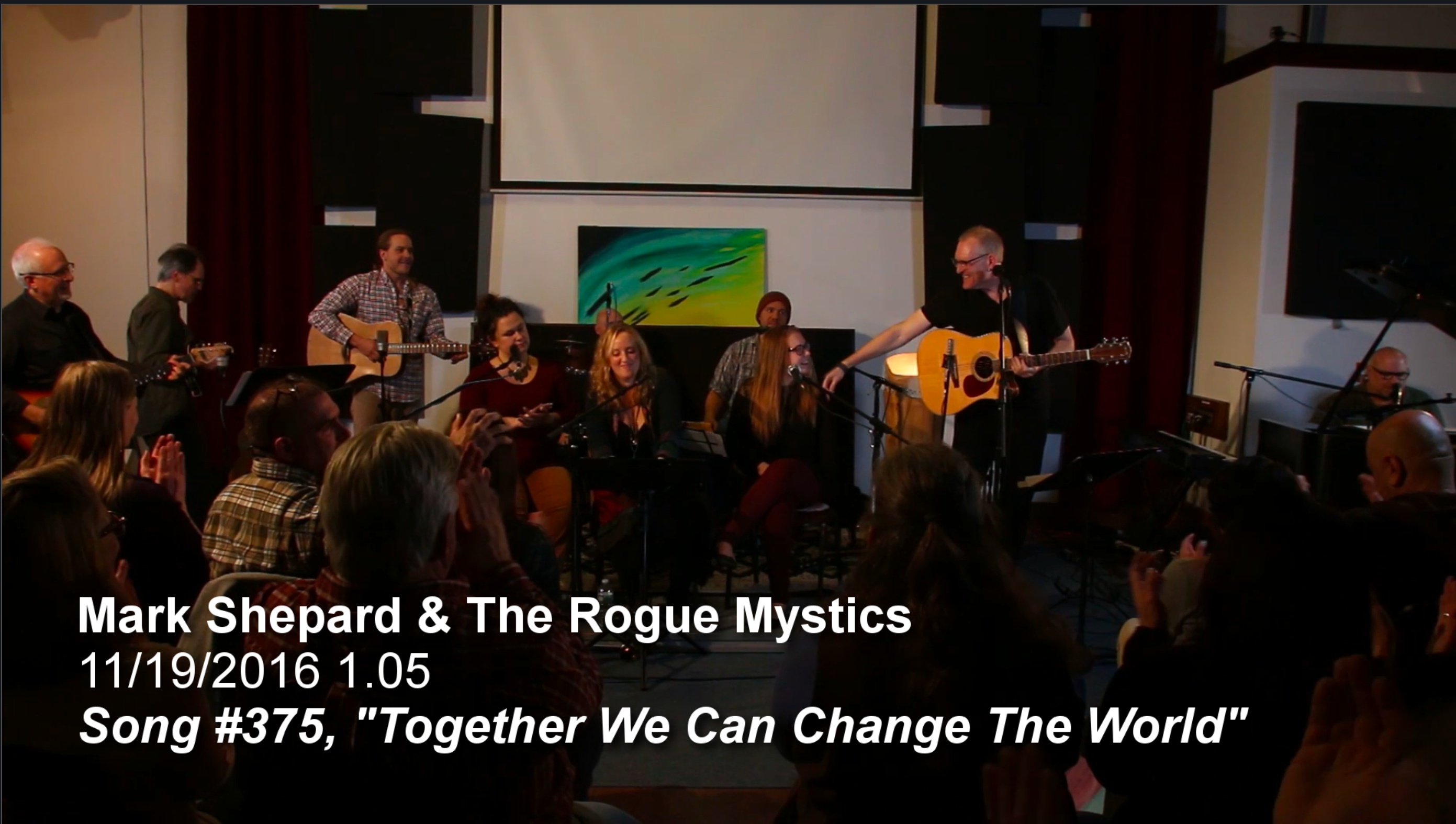 Together We Can Change The World LIVE With The Rogue Mystics #375