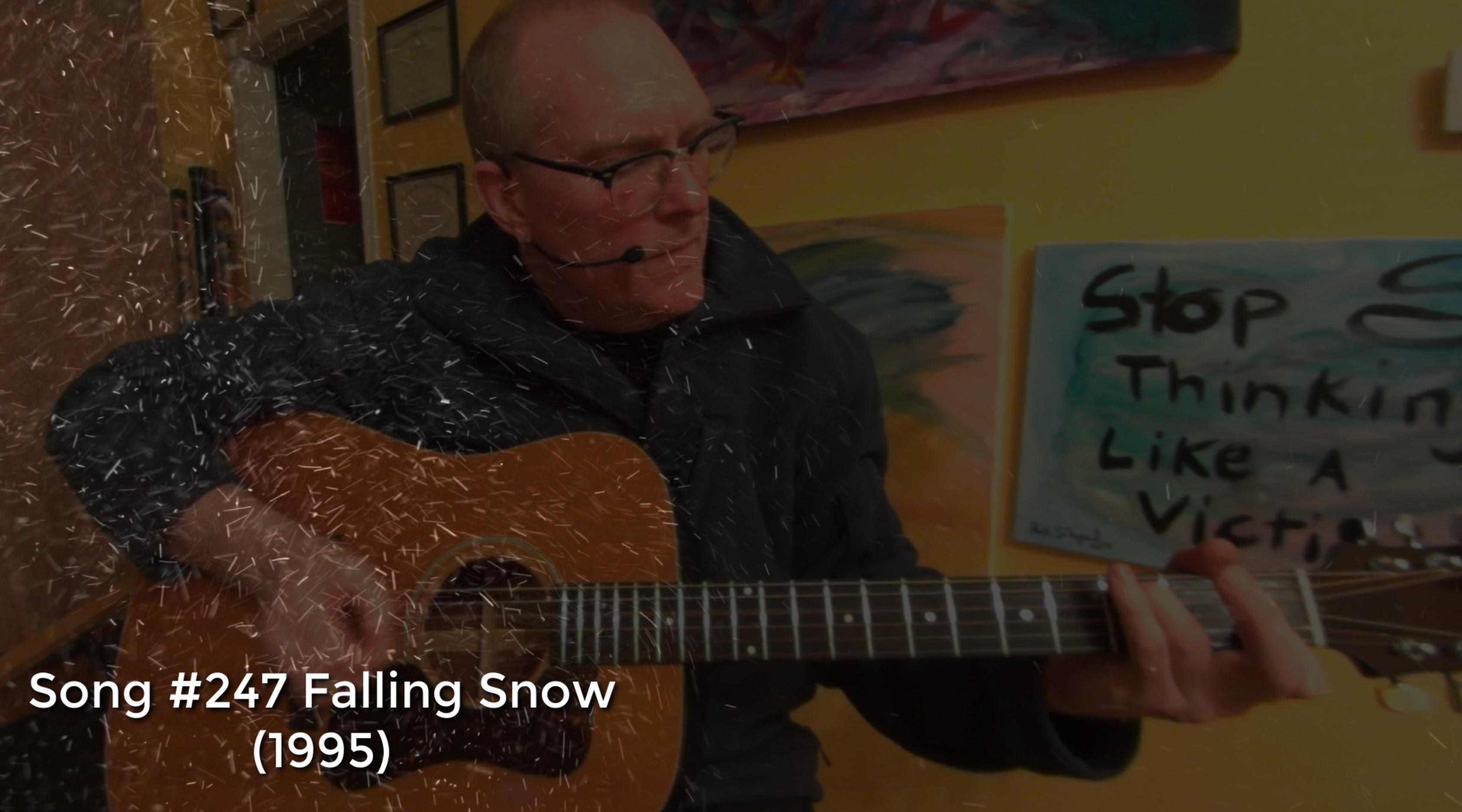 Falling Snow (Living Room Sessions 020518) #247