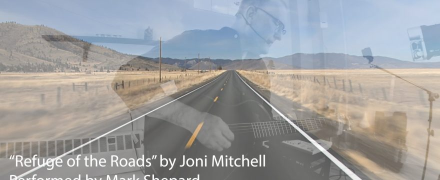"Joni Mitchell's ""Refuge of the Roads"" Music Video"